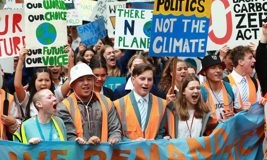 New Zealand School Students Strike To Raise Climate Change Awareness