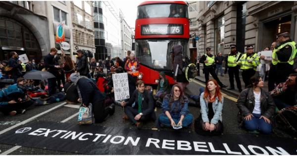 O que o movimento Extinction Rebellion conseguiu com seus protestos