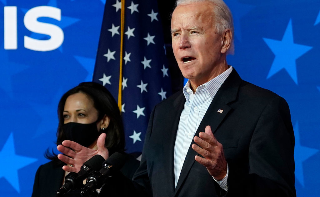 Democratic Presidential Nominee Joe Biden Makes A Statement In Wilmington