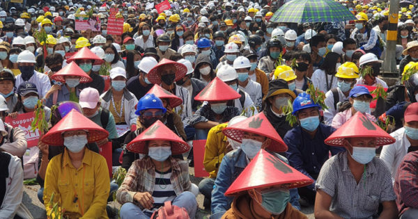 Myanmar: A new stage in the fight against the military order – the resistance calls for solidarity!
