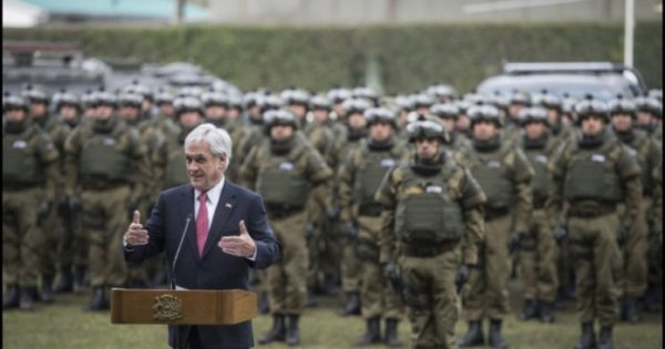 Piñera bets on militarizing the conflict of La Araucanía