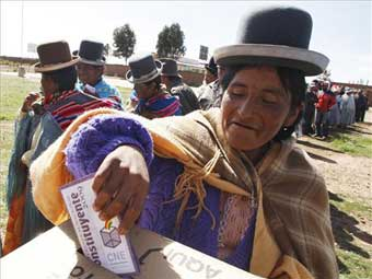Bolivia's recount progresses, MAS to lose all four departments in the ballot