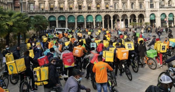 In Italy, the prospects opened up by the national strike of delivery workers