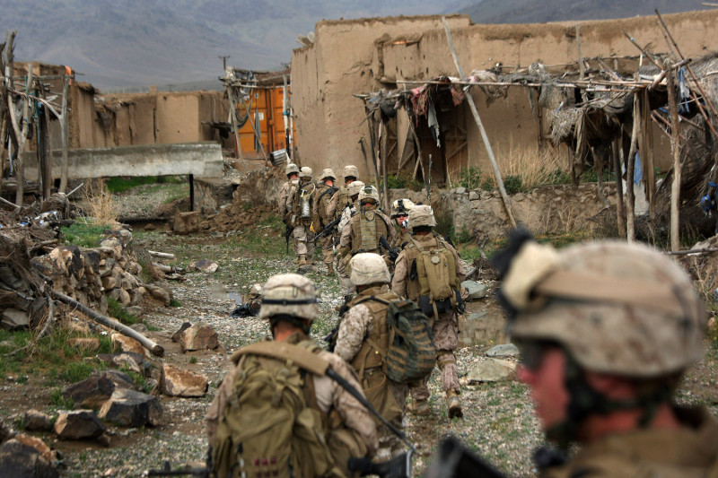 U.S. Marines Continue Counterinsurgency Operations In Helmand Province